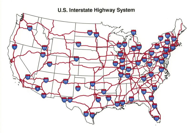 US Interstate I Map Laredo Texas To Duluth Minnesota - Us highway 12 map